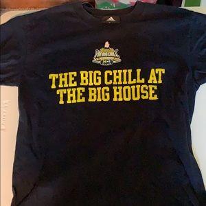 Michigan adidas big chill shirt
